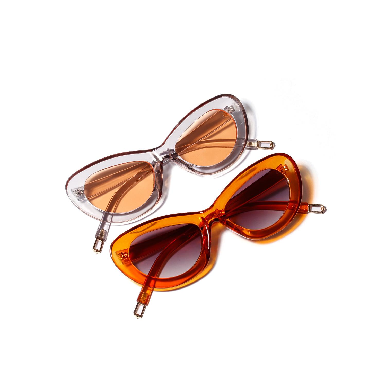 WENZHE Fashion Design Women Vintage Sun Glasses Female Ladies Sunglass Eyewear Cat Eye Sunglasses Featured Image