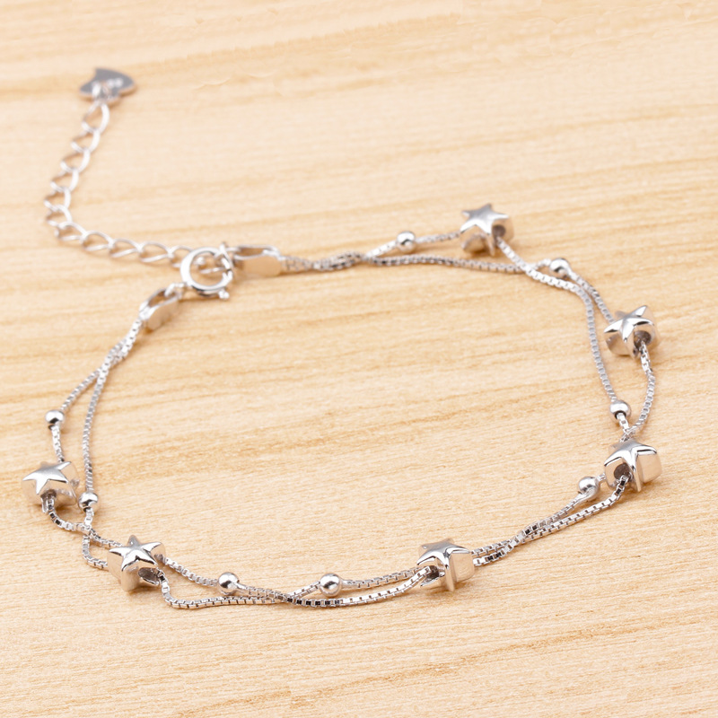 wholesale-multilayer-925-sterling-silver-star-chain1