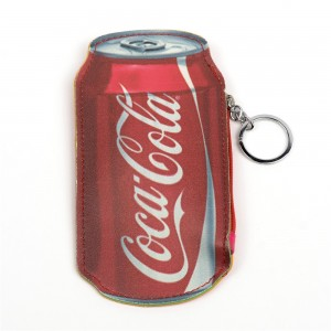 WENZHE PU Cola Bottle Shaped Ladies Fancy Coin Purses