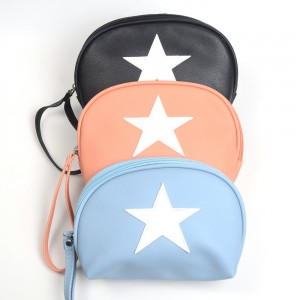 WENZHE Classical Design Women Leather Handbag With Star Decoration