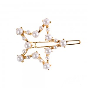 WENZHE Fashionable Pearl Hair Clip Gold Hair Pin Set Jewelry Women Girls Birthday Gift Set Bobby Pin Hair Accessories
