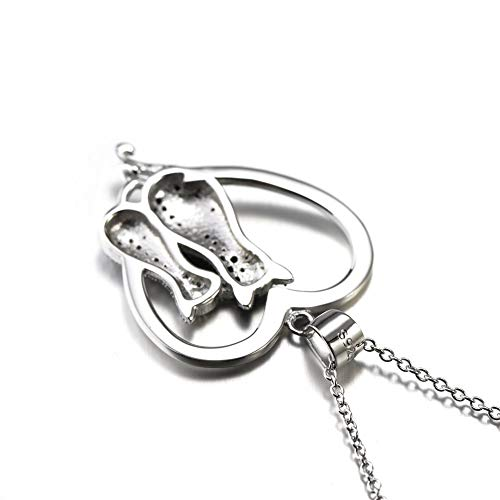 Sterling-Silver-925-Cubic-Cat-jewelry-Pendantt